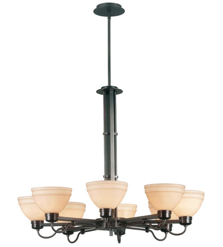 Kenroy Lighting Odyssey Copper Bronze Finish Chandeliers 90058CBZ photo