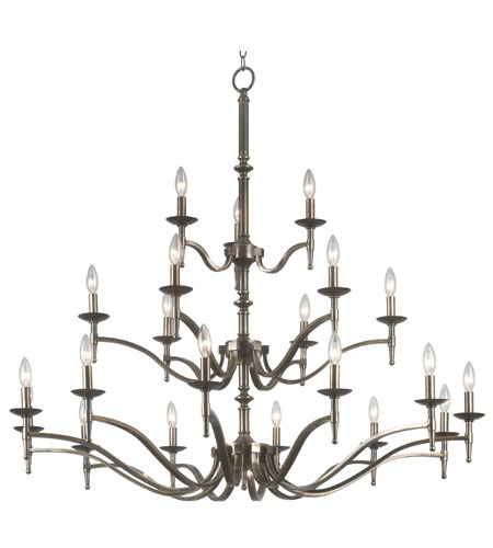 Kenroy Lighting Hastings Oxidized Brass Finish Chandeliers 90068OB photo