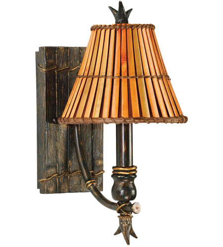 Kenroy Lighting 90451BH Kwai 1 Light 7 inch Bronze Heritage Wall Sconce Wall Light photo