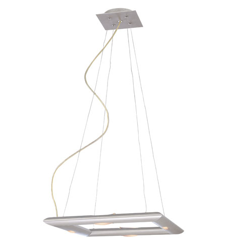 Kenroy Lighting Forma Silver Finish Pendant 90844SIL photo