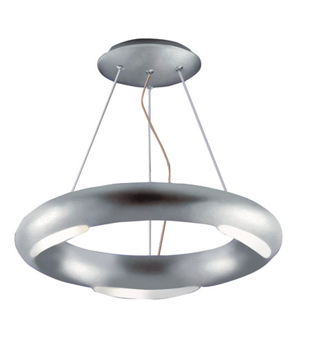 Kenroy Lighting Annello Silver Finish Semi-Flush Mount Lighting 90864SIL photo