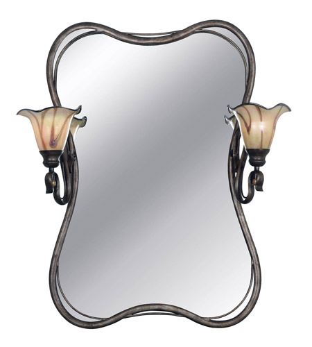 Kenroy Lighting 90890TS Inverness 2 Light 29 inch Tuscan Silver Vanity Wall Light photo