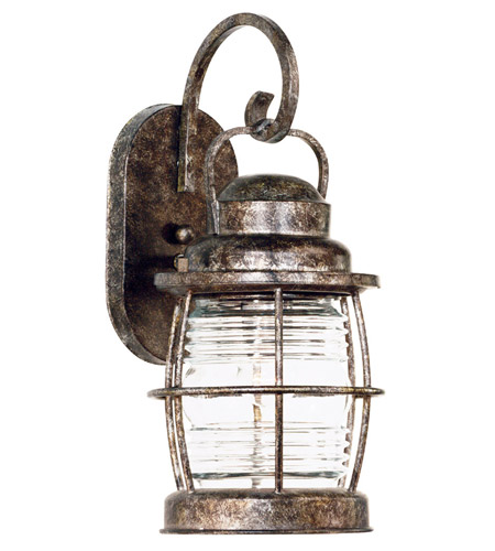 Kenroy Lighting 90951FL Beacon 1 Light 13 inch Flint Wall Lantern photo