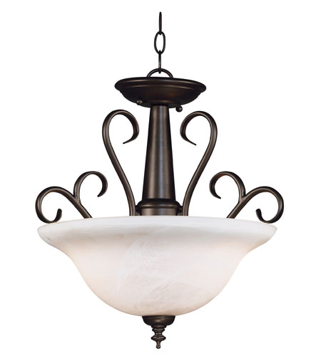 Kenroy Lighting Wynwood 2 Light Pendant in Burnished Bronze    91396BBZ photo