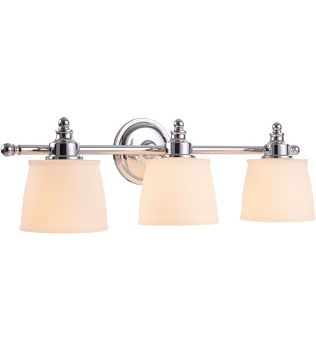Kenroy Lighting 91703CH Riley 3 Light 24 inch Chrome Vanity Wall Light photo