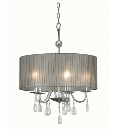 Kenroy Lighting Arpeggio 5 Light Pendant in Chrome   91735CH photo