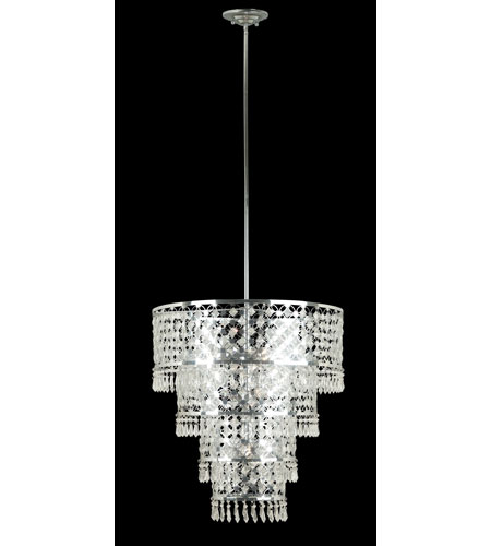 Kenroy Lighting 91776CH Facet 6 Light 22 inch Chrome Pendant Ceiling Light photo