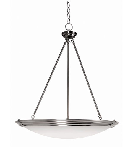 Kenroy Lighting Lumix 5 Light Pendant in Brushed Steel   91845BS photo