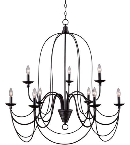 kenroy lighting 93069orb pannier 9 light 32 inch oil rubbed chandelier ceiling light