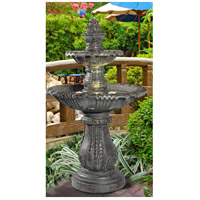Kenroy Lighting Venetian 3 Light Outdoor Floor Fountain in Moss 02254 alternative photo thumbnail