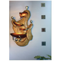 Kenroy Lighting 02262 Vestaglia Burnished Gold Wall Fountain Home Decor alternative photo thumbnail