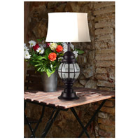Kenroy Lighting 03070 Hatteras 31 inch 100 watt Gilded Copper Outdoor Table Lamp alternative photo thumbnail