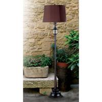 Kenroy Lighting 03071 Hatteras 61 inch 100 watt Gilded Copper Outdoor Floor Lamp