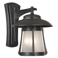 Kenroy Lighting Laguna 3 Light Outdoor Wall Lantern in Ebony Pearl   03191