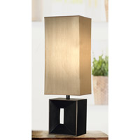 Kenroy Lighting Niche 1 Light Table Lamp in Oil Rubbed Bronze   03305AMB