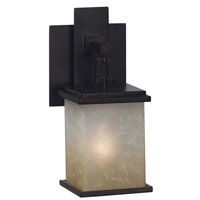 Kenroy Lighting Plateau 1 Light Sconce in Oil Rubbed Bronze   03372