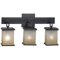 Kenroy Lighting Plateau 3 Light Vanity in Oil Rubbed Bronze   03374 photo thumbnail