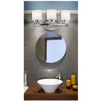 Kenroy Lighting 03392 Bow 3 Light 19 inch Polished Nickel Vanity Wall Light alternative photo thumbnail