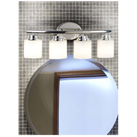 Kenroy Lighting 03393 Bow 4 Light 24 inch Polished Nickel Vanity Wall Light alternative photo thumbnail