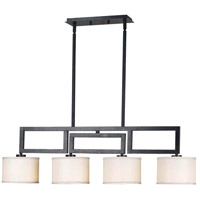 Kenroy Lighting 10064ORB Endicott 4 Light 38 inch Oil Rubbed Bronze Island Light Ceiling Light