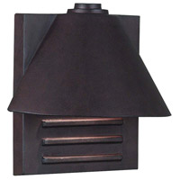 Kenroy Lighting 10160COP Fairbanks 1 Light 9 inch Copper Wall Lantern