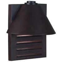 Kenroy Lighting Fairbanks 1 Light Outdoor Wall Lantern in Copper   10161COP