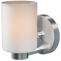 Encounters 1 Light 5 inch Brushed Steel Sconce Wall Light