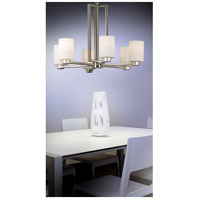 Kenroy Lighting 10186BS Encounters 6 Light 26 inch Brushed Steel Chandelier Ceiling Light alternative photo thumbnail