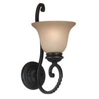Kenroy Lighting Oliver 1 Light Sconce in Oil Rubbed Bronze   10192ORB