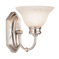 Kenroy Lighting Winterton 1 Light Sconce in Brushed Steel   10501BS