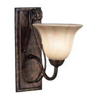 Kenroy Lighting Wallis 1 Light Sconce in Burnished Bronze   10541BB photo thumbnail