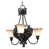 Kenroy Lighting Cromwell Golden Antique Finish Chandeliers 10567GA