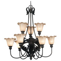 Cromwell Golden Antique Finish Chandelier Ceiling Light