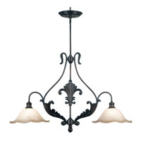 Kenroy Lighting Cromwell Gold Antique Finish Island Lighting 10570GA