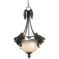 Kenroy Lighting Cromwell Gold Antique Finish Pendant 10573GA