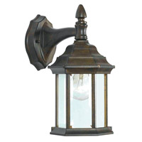 Custom Fit 1 Light 23 inch Golden Bronze Wall Lantern