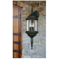 Kenroy Lighting 16267BL Custom Fit 3 Light 26 inch Black Wall Lantern alternative photo thumbnail