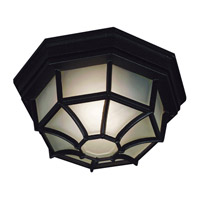Kenroy Lighting Dural 2 Light Flush Mount in Black   16289BL