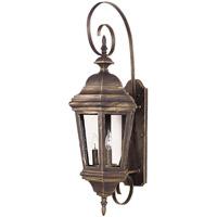 Kenroy Lighting Estate 3 Light Outdoor Wall Lantern in Antique Patina   16314AP photo thumbnail