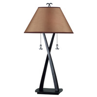 Kenroy Lighting Wright 2 Light Table Lamp in Oil Rubbed Bronze   20100ORB