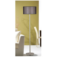 Kenroy Lighting 20115BS Marlowe 58 inch 150 watt Brushed Steel Floor Lamp Portable Light alternative photo thumbnail