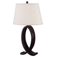 Kenroy Lighting Nemeaux 1 Light Table Lamp in Oil Rubbed Bronze   20134ORB