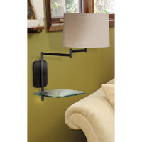 Kenroy Lighting Tabula 1 Light Swing Arm Wall Lamp in Oil Rubbed Bronze   20947ORB photo thumbnail