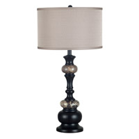 Kenroy Lighting Hobart 1 Light Table Lamp in Oil Rubbed Bronze  with Marble Accents  21006ORB