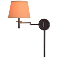 Kenroy Lighting 21011ORB Sheppard 18 inch 100 watt Oil Rubbed Bronze Wall Swing Arm Lamp Wall Light in Light Gold