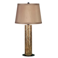 Kenroy Lighting Russo 1 Light Table Lamp in Marble  with Copper Bronze Accents  21048MAR