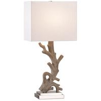 Kenroy Lighting 21049DW Drift 8 inch Driftwood Table Lamp Portable Light