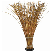 Kenroy Lighting Sheaf 1 Light Floor Lamp in Natural Reed   21065NR
