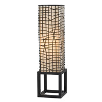 Kenroy Lighting Fortress 1 Light Table Lamp in Bronze   21068BRZ
