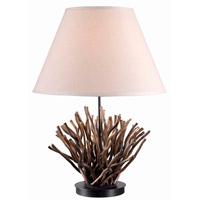 Kenroy Lighting Piper 1 Light Table Lamp in Natural Reed   21081NR